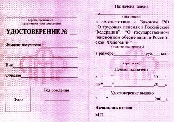 Удостоверение инвалида 1, 2 и 3 группы